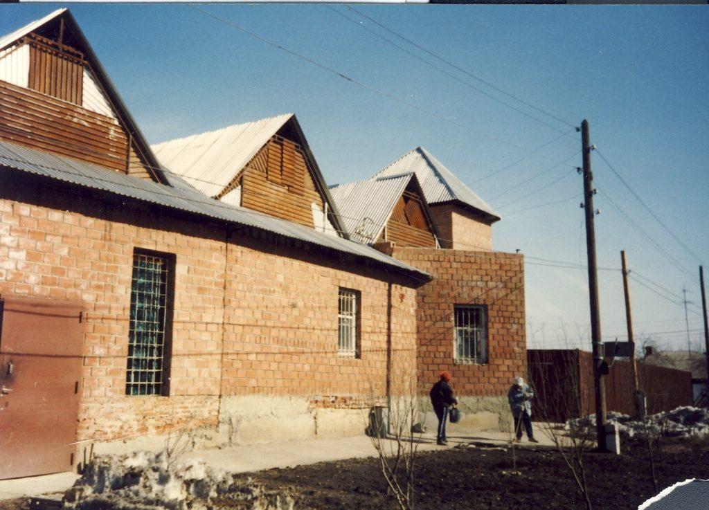 строительство церкви Благовестие