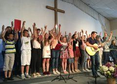 Детское пение в церкви