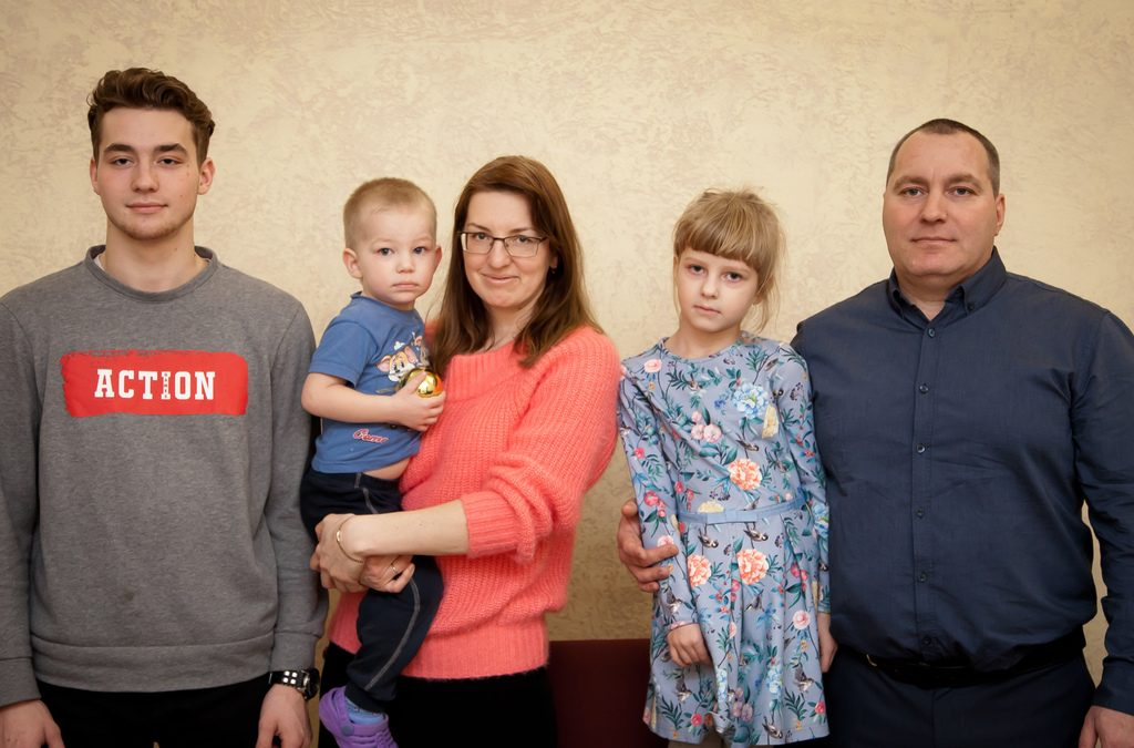 Перкокуев Алексей и семья