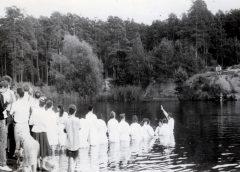 крещение на озере в Челябинске