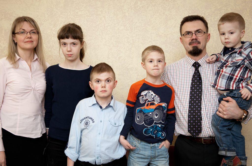 Соболев Дмитрий и семья
